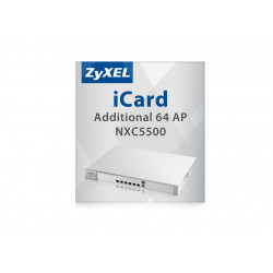 Zyxel E-iCard - Licence de mise à niveau - 64 points d'accès - pour Zyxel NXC5500
