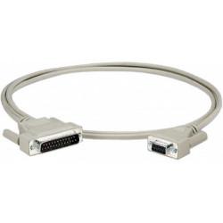 Epson - Câble série - DB-25 pour DB-9 - pour Epson DMD110, DMD120, DMD310, DMD500, DMD501, DMD502, DMD503, DMLX121, DMLX150, DM