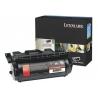 Lexmark - À rendement élevé - noir - original - cartouche de toner LCCP - pour Lexmark T640, T642, T644