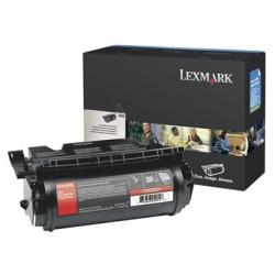 Lexmark - Noir - originale - cartouche de toner LCCP - pour Lexmark T644, T644dn, T644dtn, T644n, T644tn