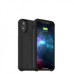 mophie Juice Pack access - Boîtier de batterie pour téléphone portable - noir - pour Apple iPhone XR