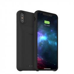 mophie Juice Pack access - Boîtier de batterie pour téléphone portable - noir - pour Apple iPhone XS Max