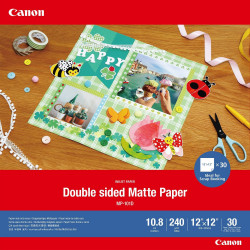 Canon Double-sided Matte Paper MP-101D - Mat - 275 microns - 304.8 x 304.8 mm - 240 g/m² - 30 feuille(s) papier