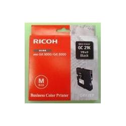 Ricoh GC 21K - Noir - originale - cartouche d'encre - pour Ricoh Aficio GX3000, Aficio GX3050, Aficio GX5050, GX 2500, GX 3050