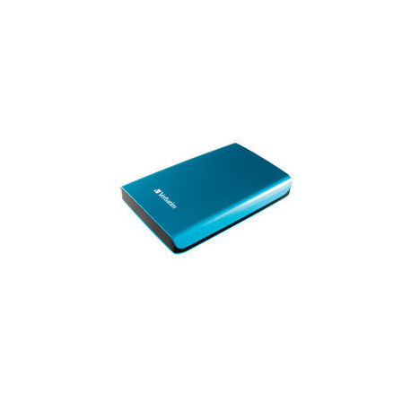 Verbatim Store 'n' Go Portable - Disque dur - 1 To - externe (portable) - USB 3.0 - 5400 tours/min - bleu des Caraïbes