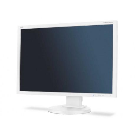 """NEC MultiSync E245WMi - Écran LED - 24"""" (24"""" visualisable) - 1920 x 1200 - IPS - 250 cd/m² - 1000:1 - 6 ms - DVI-D, VGA, Disp"""
