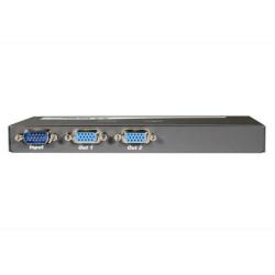 C2G 2-Port UXGA Monitor Splitter/Extender (Male Input) - Répartiteur video - Ordinateur de bureau