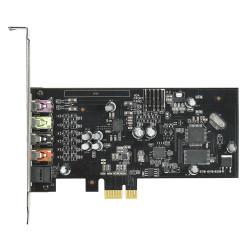 ASUS XONAR SE - Carte son - 24 bits - 192 kHz - 116 dB rapport signal à bruit - 5.1 - PCIe - CM6620A - profil bas