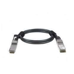 NETGEAR - Câble d'attache directe 100GBase - QSFP28 pour QSFP28 - 1 m - passif