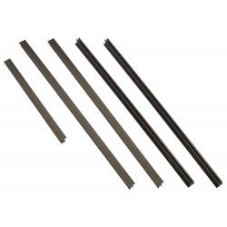 APC - Kit de garnitures pour rack - noir - pour P/N: AR3103SP, AR3106SP, SRT1000RMXLI, SRT1000RMXLI-NC, SRT10RMXLIX806, SRT5KRM