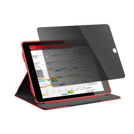 Targus - Protection d'écran pour tablette - avec filtre de confidentialité - noir, transparent - pour Apple 9.7-inch iPad (5th