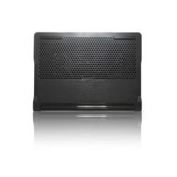 Targus Chill Mat + with 4-port Hub - Support pour ordinateur portable - avec 2 ventilateurs de refroidissement, concentrateur U