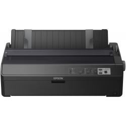 Epson FX 2190IIN - Imprimante - Noir et blanc - matricielle - Rouleau (21,6 cm), 406,4 mm (largeur), 420 x 364 mm - 240 x 144 d