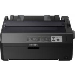 Epson LQ 590II - Imprimante - monochrome - matricielle - Rouleau (21,6 cm), JIS B4, 254 mm (largeur) - 360 x 180 dpi - 24 pin -