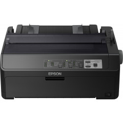 Epson LQ 590IIN - Imprimante - monochrome - matricielle - Rouleau (21,6 cm), JIS B4, 254 mm (largeur) - 360 x 180 dpi - 24 pin