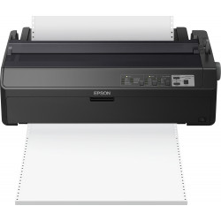 Epson LQ 2090II - Imprimante - monochrome - matricielle - Rouleau (21,6 cm), 406,4 mm (largeur), 420 x 364 mm - 360 x 180 dpi -