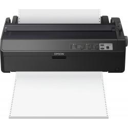 Epson LQ 2090IIN - Imprimante - monochrome - matricielle - Rouleau (21,6 cm), 406,4 mm (largeur), 420 x 364 mm - 360 x 180 dpi