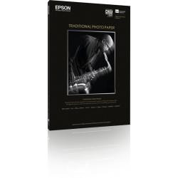 Epson Traditional Photo Paper - A3 plus (329 x 423 mm) - 330 g/m² - 25 feuille(s) papier photo - pour Stylus Pro 4900 Spectro_M