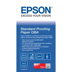Epson Proofing Paper Standard - A3 Plus (329 x 483 mm) - 250 g/m² - 100 feuille(s) papier épreuve - pour SureColor SC-P10000, P