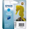 Epson T0482 - 13 ml - cyan - originale - blister - cartouche d'encre - pour Stylus DX3800, Stylus Photo R200, R220, R300, R320