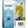 Epson T0485 - 13 ml - cyan clair - originale - blister - cartouche d'encre - pour Stylus DX3800, Stylus Photo R200, R220, R300