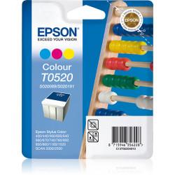Epson T052 - 35 ml - couleur (cyan, magenta, jaune) - originale - blister - cartouche d'encre - pour Color Copy Station 8200,
