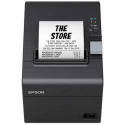 Epson TM T20III - Imprimante de reçus - thermique en ligne - Rouleau (7,95 cm) - 203 x 203 ppp - jusqu'à 250 mm/sec - LAN - no