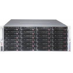 Supermicro SC847 BE1C4-R1K23LPB - Montable sur rack - 4U - Extended ATX améliorée - SATA/SAS - hot-swap 1200 Watt - noir