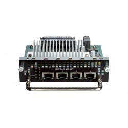 D-Link - Module d'extension - 10Gb Ethernet x 4 - pour D-Link Data Center 10GbE Top-of-Rack Switch DXS-3600, DXS 3600-16S, 360