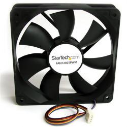StarTech.com Ventilateur d'Ordinateur 120 mm avec PMW - Connecteur à Modulation d'Impulsion en Durée - 1x Molex Fan Femelle -