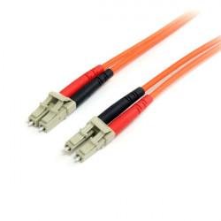 StarTech.com 1m Fiber Optic Cable - Multimode Duplex 62.5/125 - LSZH - LC/LC - OM1 - LC to LC Fiber Patch Cable (FIBLCLC1) - Câ