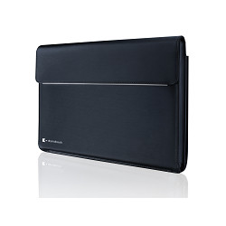 """DynaBook Toshiba X-SERIES - Housse d'ordinateur portable - 13.3"""" - 14"""" - noir, bleu onyx - pour Portégé X30, X30L, X30T, Tec"""