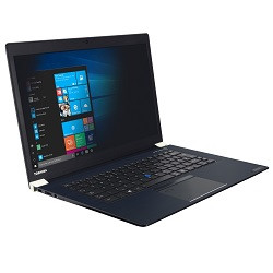 Toshiba - Filtre de confidentialité pour ordinateur portable - à double sens - adhésif - noir - pour Dynabook Toshiba Portégé A