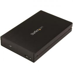 """StarTech.com Boîtier USB 3.1 (10 Gb/s) pour disque dur / SSD SATA de 2,5"""" - USB-A USB-C - Pour disques de 5 à 15 mm en hauteur"""
