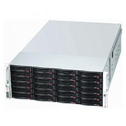 Supermicro SC847 E1C-R1K28JBOD - Montable sur rack - 4U - SATA/SAS - hot-swap 1280 Watt - noir
