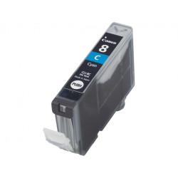 Canon CLI-8C - 13 ml - cyan - originale - réservoir d'encre - pour PIXMA iP3500, iP4500, iP5300, MP510, MP520, MP610, MP960, M