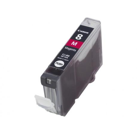 Canon CLI-8M - 13 ml - magenta - originale - réservoir d'encre - pour PIXMA iP3500, iP4500, iP5300, MP510, MP520, MP610, MP960