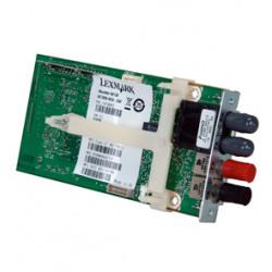 Lexmark MarkNet N8130 - Serveur d'impression - 100Mb LAN - 10Base-FL, 100Base-FX - pour Lexmark C950, TS652, X652de 7462, X860