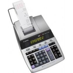 Canon MP1211-LTSC - Calculatrice avec imprimante - LCD - 12 chiffres - adaptateur CA, pile de sauvegarde mémoire - argent métal