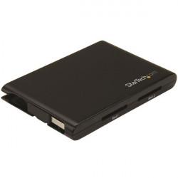 StarTech.com Lecteur et enregistreur de cartes SD dual-slot USB 3.0 portable avec UHS II et SD 4.0 - SD/SDHC/SDXC - Lecteur de