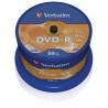 Verbatim 50 DVD-R  4.7 Go - support de stockage