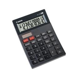 Canon AS-120 - Calculatrice de bureau - 12 chiffres - panneau solaire, pile - gris foncé