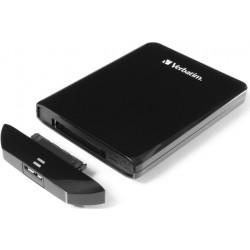 Verbatim Store 'n' Go USM - Disque dur - 500 Go - externe (portable) - USB 3.0 - noir