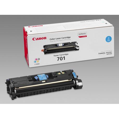 Canon 701 - Cyan - originale - cartouche de toner - pour ImageCLASS MF8180c, Laser Shot LBP-5200, LaserBase MF8180C