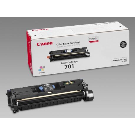 Canon 701 - Noir - originale - cartouche de toner - pour ImageCLASS MF8180c, Laser Shot LBP-5200, LaserBase MF8180C