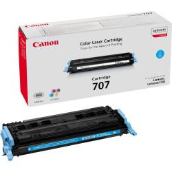 Canon 707C - Cyan - originale - cartouche de toner - pour i-SENSYS LBP5000, LBP5100, Laser Shot LBP-5000, 5100