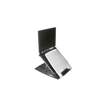 """Targus Ergo M-Pro - Support pour ordinateur portable - 17"""" - argent, gris foncé"""