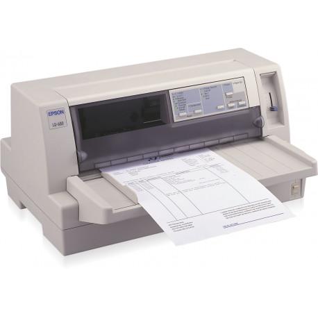 Epson LQ 680Pro - Imprimante - Noir et blanc - matricielle - 305 x 420 mm, 305 mm (largeur) - 360 dpi - 24 pin - jusqu'à 465 c