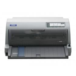 Epson LQ 690 - Imprimante - monochrome - matricielle - 12 cpi - 24 pin - jusqu'à 529 car/sec - parallèle, USB