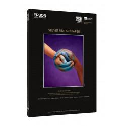 Epson fine art velvet - papier - papier veloute - a3 plus (329 x 423 mm) - 20 pc.